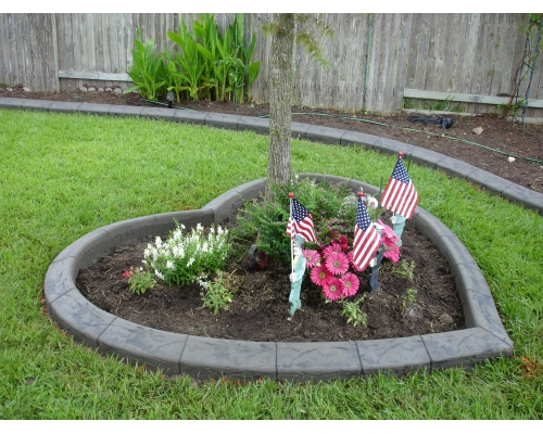 Landscaping Curbing Pictures : Decorative concrete curbing landscaping landscape